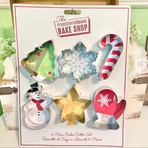 Masterclass Bake Shop Christmas Cookie Cutters